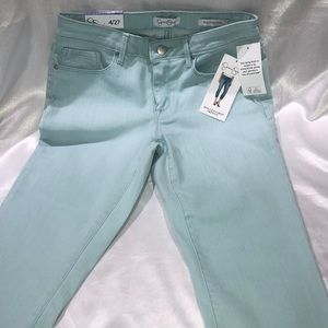 Jessica Simpson rolled crop skinny pants